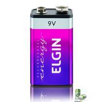Bateria Recarregavel 9v 250 Mah Elgin - Nfe -