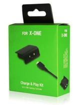 Bateria Recarregável e Cabo Carregador USB Para Controle Sem Fio Xbox One - Snd