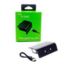 Bateria Recarregável E Cabo Usb Para Controle Xbox One -