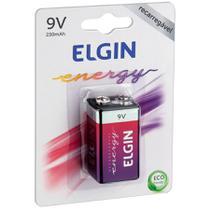 Bateria Recarregável Energy 9v 250 Mah 1un 82215 Elgin