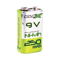 Bateria Recarregável Flex 9v Fx9v25b1 -