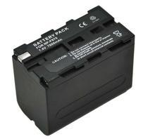 Bateria recarregável Greika NP-F970 7200mAh para iluminadores de LED e filmadoras Sony -