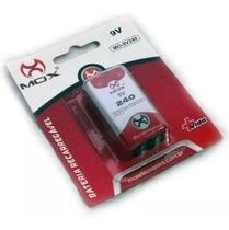 Bateria Recarregável Mox 9v 240 Mah Mo-9v240 - MOX DOTCELL