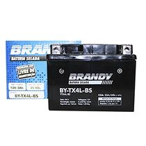 Bateria Selada Brandy Original TX4L SHINERAY 50 New 50 Cód. Yuasa YTX4L-BS