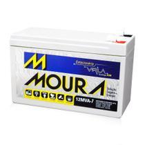Bateria Selada Estacionária Moura 12V 7A VRLA Nobreak - Baterias Moura