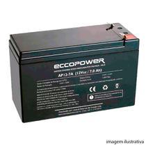 Bateria Selada Lacerda Eccopower 12v 7a -