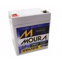 Bateria selada para nobreaks 12v 5ah - 12mva-5  moura -