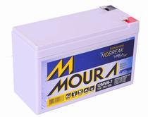 Bateria selada vrla moura 12v 7ah - nobreak, alarme -