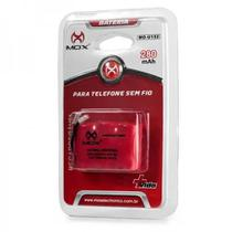 Bateria Telefone S Fio Ge Panasonic Toshiba  Plug Universal - Mox