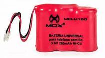 Bateria Telefone Sem Fio 3.6v 280mah Universal 3aaa Mo-u150 - Mox