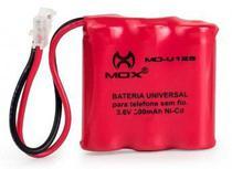 Bateria Telefone Sem Fio 3.6V 300mAh Universal 3AAA MO-U125 - Mox