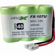 Bateria Telefone Sem Fio Ni-cd 3.6V 400mah - FX-107U - Flex -