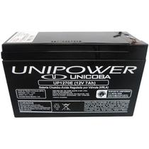 Bateria Unipower para Nobreak 12 V 7.0AH F187 UP1270E 04F011 PO:014601 -