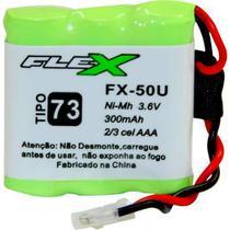 Bateria Universal para Telefone sem Fio 300MAH 3,6V FX-50U FLEX -