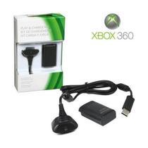 Bateria Xbox 360 Recarregavel Com Cabo USB - Lxshop