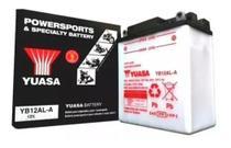 Bateria Yuasa Yb12al-a P/ Motos Xt 600 Z Tenere -