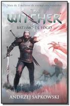 Batismo de fogo - vol.5 - serie the witcher - capa - Wmf