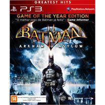 Batman - Arkham Asylum  PS3 - Wb games