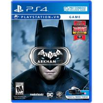 Batman Arkham - Ps4 Vr - Sony