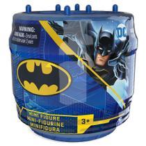 Batman - mini figuras de 5 cm sortidos - pote azul - Sunny Brinquedos