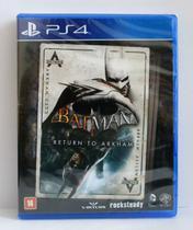 Batman Return to Arkham - Warner Bros - Ps4