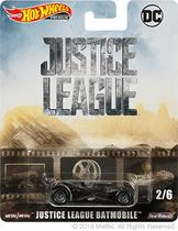 Batmobile - Justice League - DC Comics - Entretenimento - 1/64 - Hot Wheels Premium -