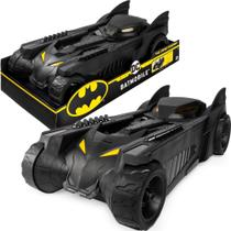 Batmovel Carro do Batman Dc Comics Bat movel Original Spin Master Sunny 40cm -