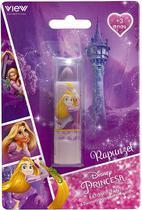 Batom Infantil Na Cartela Rapunzel Princesa Disney View -
