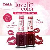 BATOM TINTA - LOVE LIP COLOR  KIT LOVE RED e LOVE CHERRY   DNA ITALY -