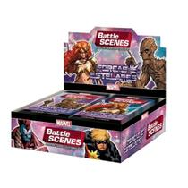 Battle Scenes Marvel Box Forças Estelares 36 Boosters Copag -