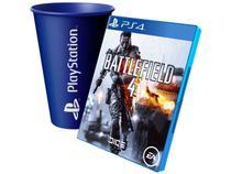 Battlefield 4 para PS4 - EA + Copo PlayStation Azul
