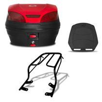 Bau 30 Litros Pro Tork Smartbox 3 + Bagageiro Ybr Factor 2009/12 -