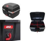 Bau Bauleto Moto Com Base Para Bagageiro Give Traffic Monolock 27 Litros - E27M - Givi