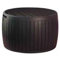 Bau Circular Circa Wood Box Keter Marrom - Keter móveis