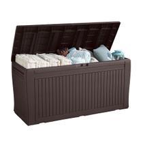 Baú Comfy Deck Box Marrom Keter - Rattan keter