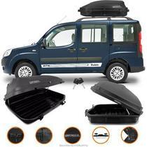 Baú maleiro bagageiro teto motobul Fiat Doblo adventure 270 Litros 50kg -