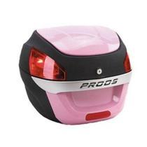 Bau Moto Bauleto Para Bagageiro 29 Litros Proos Rosa - Awa Pross -