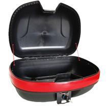 Baú Para Moto Bauleto 48 Litros Com Kit Instalação E Chave TEEM Modelo TM 5542 -