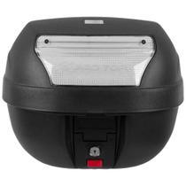 Bauleto Moto 28 Litros Lente Cristal Smart Box BP-03CL Pro Tork -