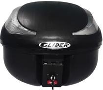 Bauleto Para Moto 40 Litros Glider Cinza e Base Universal -