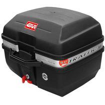 Bauleto traseiro Givi Traffic E27M 27 litros base universal - baú superior monolock moto -