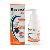 Baycox Coccidicida 5% Leitões, Bezerros e Cordeiros - Bayer -