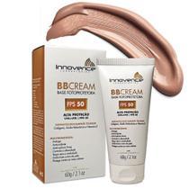 BB Cream Base Fotoprotetora FPS 50 Tonalizante / Bege Bronze - 60g - Innovence Laboratórios