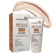 BB Cream Base Fotoprotetora FPS 50 Tonalizante / Bege Claro - 60g - Innovence Laboratórios