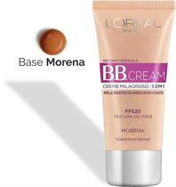 BB Cream Creme Milagroso 5 em 1 - Base Morena - FPS 20 - Loréal Paris - LOreal Paris