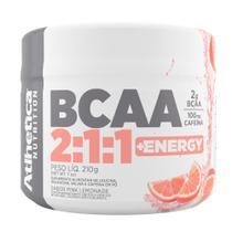 BCAA 2:1:1 + Energy 210G - Atlhetica Nutrition -