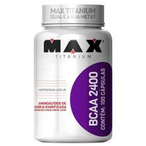 BCAA 2400 100 Cáps. - Max Titanium -