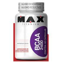 BCAA 2400 60 Cáps - Max Titanium -