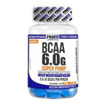 Bcaa 6.0g Ultra Concentrado Super Pump 60 Tabletes - Profit