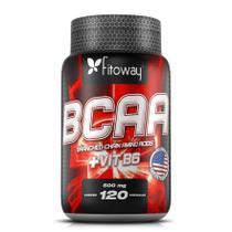 BCAA Fitoway 500mg - 120 Cápsulas -